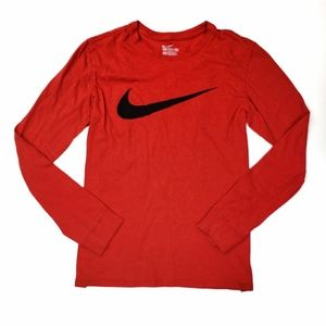NIKE - long sleeve swoosh tee